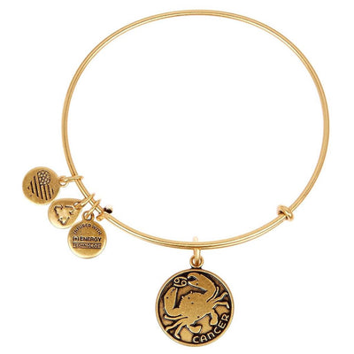 Cancer Zodiac Bangle by Alex and Ani - Available at SHOPKURY.COM. Free Shipping on orders over $200. Trusted jewelers since 1965, from San Juan, Puerto Rico.