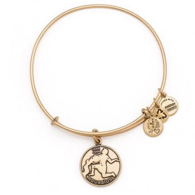 Aquarius Zodiac Bangle by Alex and Ani - Available at SHOPKURY.COM. Free Shipping on orders over $200. Trusted jewelers since 1965, from San Juan, Puerto Rico.