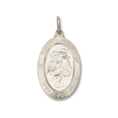 St. Anthony Pendant by Kury - Available at SHOPKURY.COM. Free Shipping on orders over $200. Trusted jewelers since 1965, from San Juan, Puerto Rico.