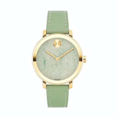 Bold Green Onyx 34mm - Kury Jewelry