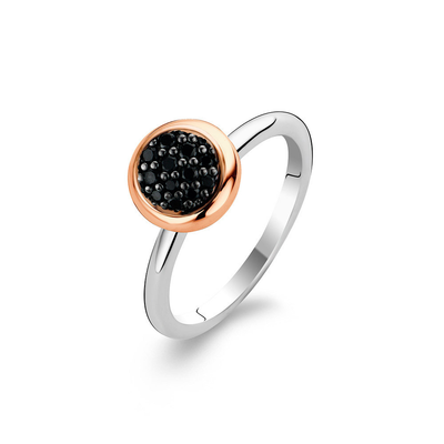 Black Rose Halo Ring - SHOPKURY.COM