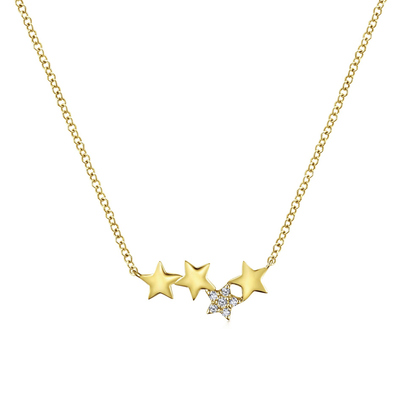 Stellar 4-Star Necklace - SHOPKURY.COM