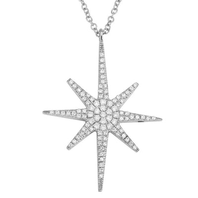 Fortune Star Diamond Necklace by Kury - Available at SHOPKURY.COM. Free Shipping on orders over $200. Trusted jewelers since 1965, from San Juan, Puerto Rico.