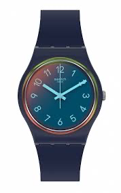 LA night blue by Swatch - Available at SHOPKURY.COM. Free Shipping on orders over $200. Trusted jewelers since 1965, from San Juan, Puerto Rico.