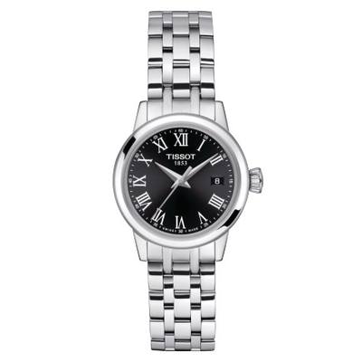 Classic Dream Black 28mm by Tissot - Available at SHOPKURY.COM. Free Shipping on orders over $200. Trusted jewelers since 1965, from San Juan, Puerto Rico.