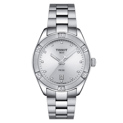 PR 100 by Tissot - Available at SHOPKURY.COM. Free Shipping on orders over $200. Trusted jewelers since 1965, from San Juan, Puerto Rico.