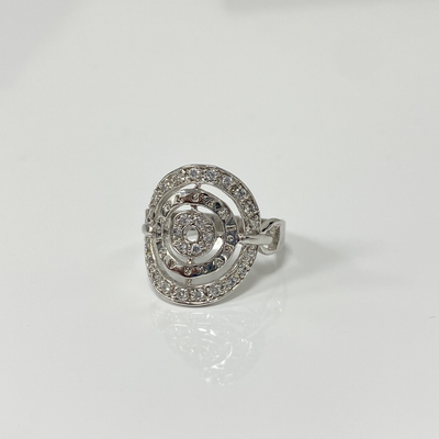 Sterling Silver Ring with clear zirconias by Kury - Available at SHOPKURY.COM. Free Shipping on orders over $200. Trusted jewelers since 1965, from San Juan, Puerto Rico.