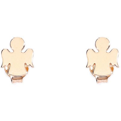 Rose Angel Studs by Amen - Available at SHOPKURY.COM. Free Shipping on orders over $200. Trusted jewelers since 1965, from San Juan, Puerto Rico.