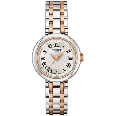 Bellissima Rose Steel 26mm by Tissot - Available at SHOPKURY.COM. Free Shipping on orders over $200. Trusted jewelers since 1965, from San Juan, Puerto Rico.