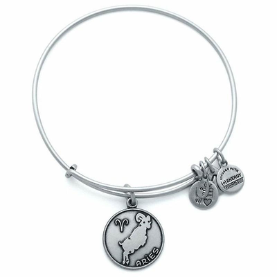 Aries Zodiac Bracelet by Alex and Ani - Available at SHOPKURY.COM. Free Shipping on orders over $200. Trusted jewelers since 1965, from San Juan, Puerto Rico.