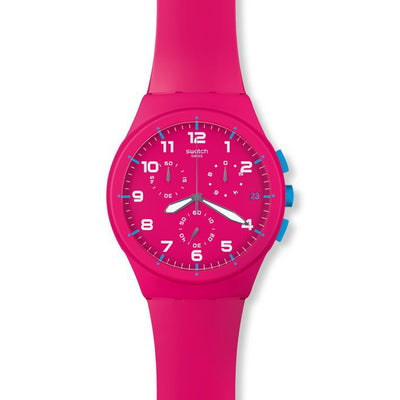 Pink Frame by Swatch - Available at SHOPKURY.COM. Free Shipping on orders over $200. Trusted jewelers since 1965, from San Juan, Puerto Rico.