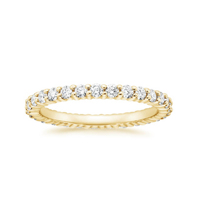 18K Yellow Gold Eternity Ring - SHOPKURY.COM