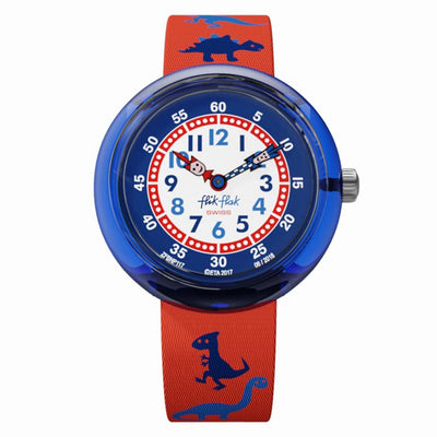 Dinosauritos by Flik Flak By Swatch - Available at SHOPKURY.COM. Free Shipping on orders over $200. Trusted jewelers since 1965, from San Juan, Puerto Rico.