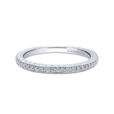14K White Gold Eternity Ring - SHOPKURY.COM