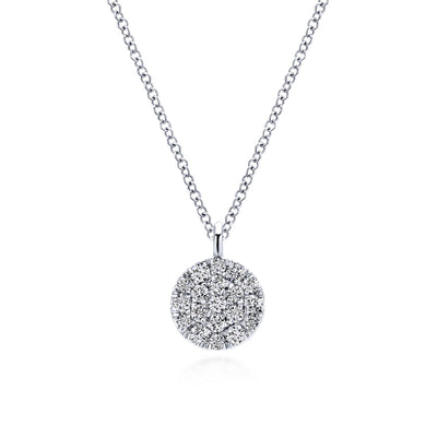 Diamond Pave Necklace - SHOPKURY.COM