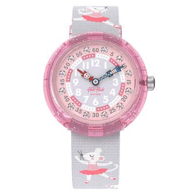 pirouette by Flik Flak by Swatch - Available at SHOPKURY.COM. Free Shipping on orders over $200. Trusted jewelers since 1965, from San Juan, Puerto Rico.
