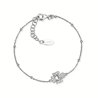 Pave Angel Bracelet by Amen - Available at SHOPKURY.COM. Free Shipping on orders over $200. Trusted jewelers since 1965, from San Juan, Puerto Rico.
