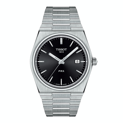 PRX 40250 Black by Tissot - Available at SHOPKURY.COM. Free Shipping on orders over $200. Trusted jewelers since 1965, from San Juan, Puerto Rico.