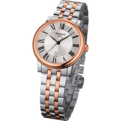 Carson Premium Rose 30mm by Tissot - Available at SHOPKURY.COM. Free Shipping on orders over $200. Trusted jewelers since 1965, from San Juan, Puerto Rico.