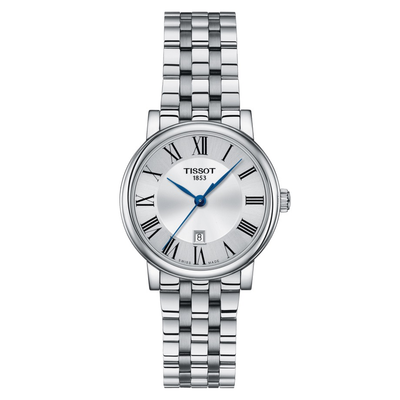 Carson Premium Steel 30mm by Tissot - Available at SHOPKURY.COM. Free Shipping on orders over $200. Trusted jewelers since 1965, from San Juan, Puerto Rico.
