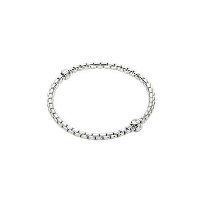 White Gold and Diamonds Bracelet - SHOPKURY.COM