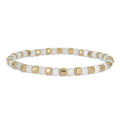 Contrast Bead Bracelet by Kury - Available at SHOPKURY.COM. Free Shipping on orders over $200. Trusted jewelers since 1965, from San Juan, Puerto Rico.
