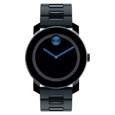 BOLD 42mm Black/Blue by Movado - Available at SHOPKURY.COM. Free Shipping on orders over $200. Trusted jewelers since 1965, from San Juan, Puerto Rico.