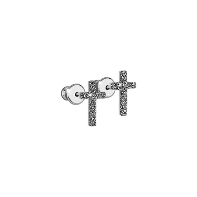 Jolie Cross Earrings by REBECCA - Available at SHOPKURY.COM. Free Shipping on orders over $200. Trusted jewelers since 1965, from San Juan, Puerto Rico.