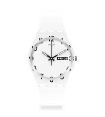 over white by Swatch - Available at SHOPKURY.COM. Free Shipping on orders over $200. Trusted jewelers since 1965, from San Juan, Puerto Rico.
