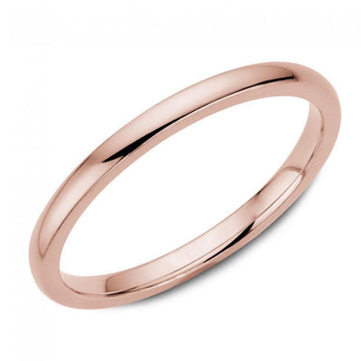 14K Rose Gold Solid 2x2mm Ring by Kury Bridal - Available at SHOPKURY.COM. Free Shipping on orders over $200. Trusted jewelers since 1965, from San Juan, Puerto Rico.