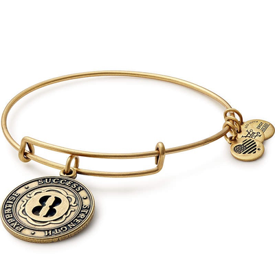 Lucky Number 8 Bangle by ALEX AND ANI - Available at SHOPKURY.COM. Free Shipping on orders over $200. Trusted jewelers since 1965, from San Juan, Puerto Rico.