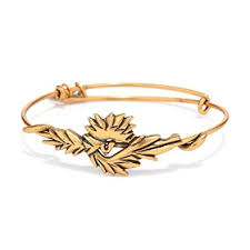 Phoenix Golden Bangle - SHOPKURY.COM