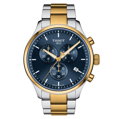Chrono XL Blue 45mm by Tissot - Available at SHOPKURY.COM. Free Shipping on orders over $200. Trusted jewelers since 1965, from San Juan, Puerto Rico.