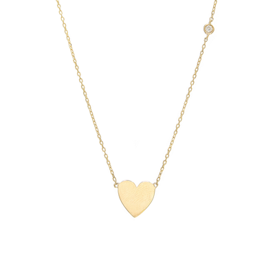Golden Heart Necklace - SHOPKURY.COM