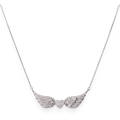 Heart with Wings Necklace - SHOPKURY.COM
