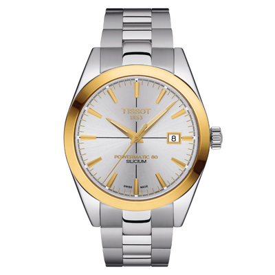 Gentleman Powermatic 80 Silicium Solid 18K Gold Bezel by TISSOT - Available at SHOPKURY.COM. Free Shipping on orders over $200. Trusted jewelers since 1965, from San Juan, Puerto Rico.