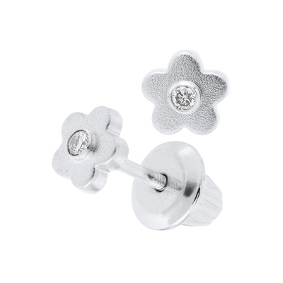 Flower Diamond Studs - SHOPKURY.COM