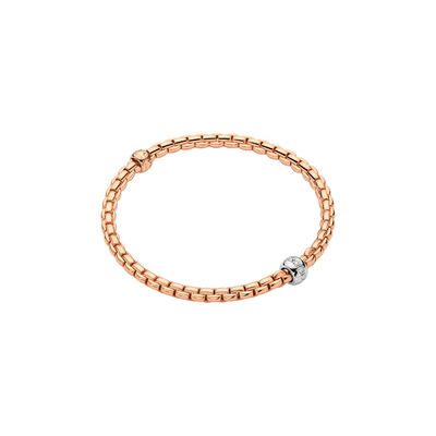 Rose Gold Diamond Bracelet - SHOPKURY.COM