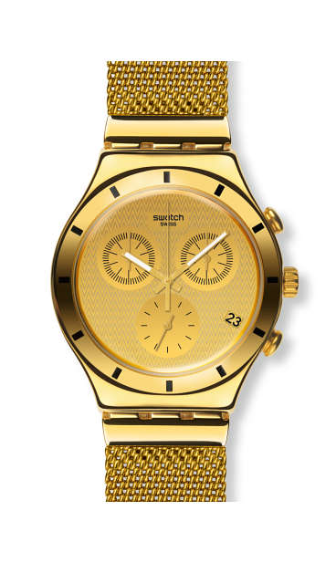 golden cover large by Swatch - Available at SHOPKURY.COM. Free Shipping on orders over $200. Trusted jewelers since 1965, from San Juan, Puerto Rico.