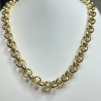 10MM Rolo Chain by Kury - Available at SHOPKURY.COM. Free Shipping on orders over $200. Trusted jewelers since 1965, from San Juan, Puerto Rico.