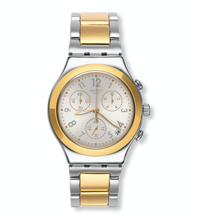 dreamnight golden by Swatch - Available at SHOPKURY.COM. Free Shipping on orders over $200. Trusted jewelers since 1965, from San Juan, Puerto Rico.