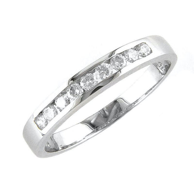 .24ct Diamond Wedding Band by Kury Bridal - Available at SHOPKURY.COM. Free Shipping on orders over $200. Trusted jewelers since 1965, from San Juan, Puerto Rico.