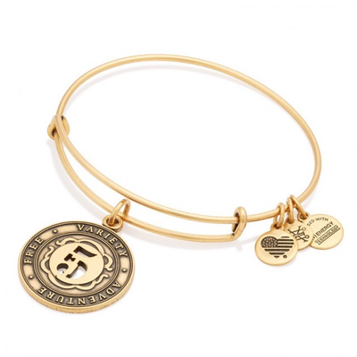 Number 5 Bracelet by ALEX AND ANI - Available at SHOPKURY.COM. Free Shipping on orders over $200. Trusted jewelers since 1965, from San Juan, Puerto Rico.