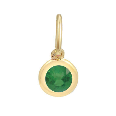 Emerald Pendant 14K by Kury - Available at SHOPKURY.COM. Free Shipping on orders over $200. Trusted jewelers since 1965, from San Juan, Puerto Rico.