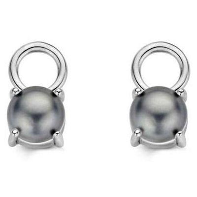 Grey Pearl Ear Charm by Ti Sento - Available at SHOPKURY.COM. Free Shipping on orders over $200. Trusted jewelers since 1965, from San Juan, Puerto Rico.