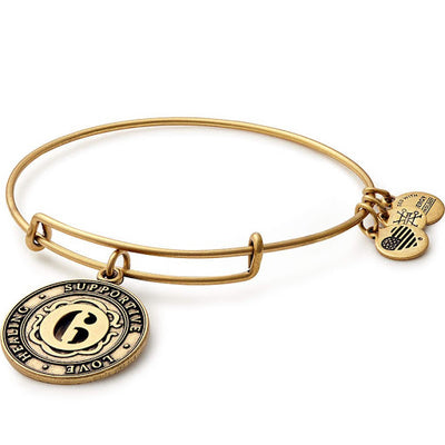 Number 6 Golden Bracelet by ALEX AND ANI - Available at SHOPKURY.COM. Free Shipping on orders over $200. Trusted jewelers since 1965, from San Juan, Puerto Rico.