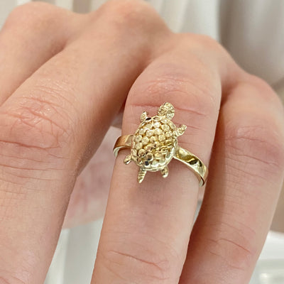 Turtle Ring Size 5 - SHOPKURY.COM