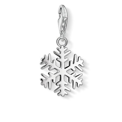 Snowflake Charm by THOMAS SABO - Available at SHOPKURY.COM. Free Shipping on orders over $200. Trusted jewelers since 1965, from San Juan, Puerto Rico.