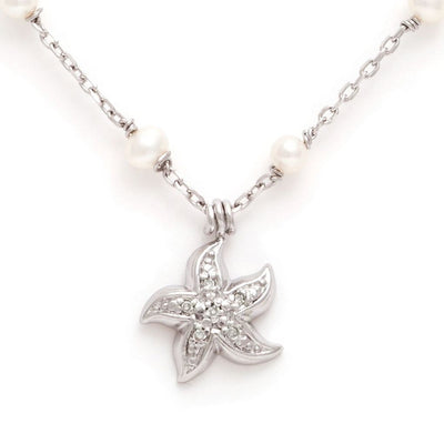 Starfish Pearl Necklace - SHOPKURY.COM