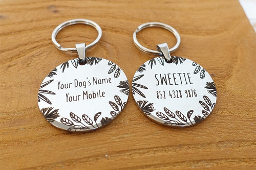 Customized Dog Name Tags